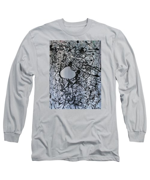 There Is A Hole In The Bucket Long Sleeve T-Shirt by Michael Cross