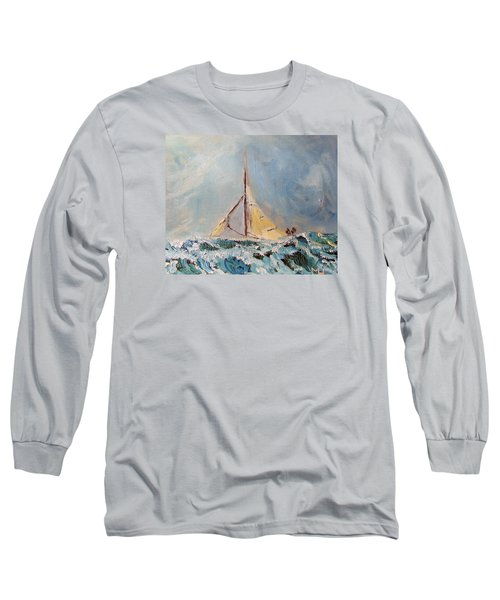 There's Always Hope Long Sleeve T-Shirt by Michael Helfen