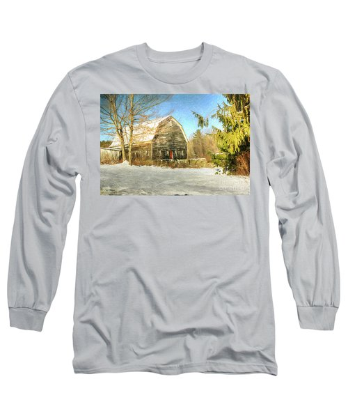 This Old Barn Long Sleeve T-Shirt by Tina  LeCour