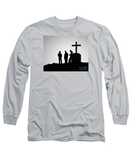 Three At The Cross Long Sleeve T-Shirt