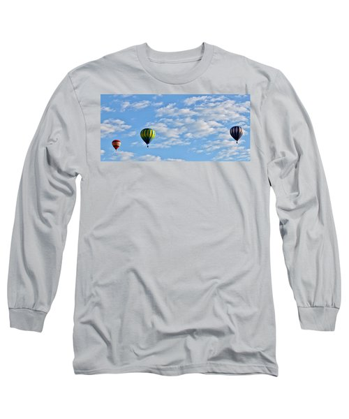 Three Beautiful Balloons In Cortez Long Sleeve T-Shirt