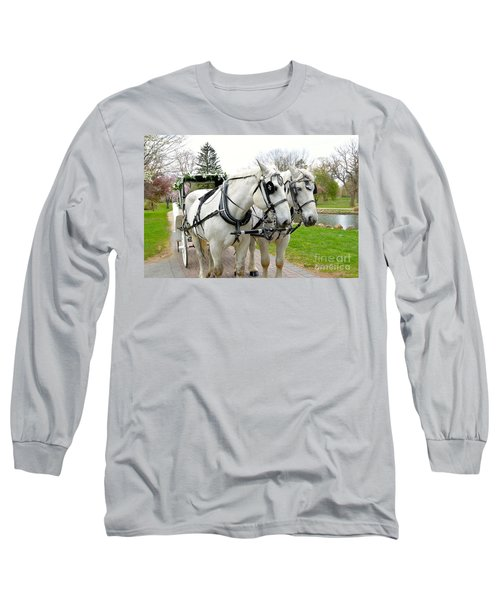 Tillie And Bruce Long Sleeve T-Shirt
