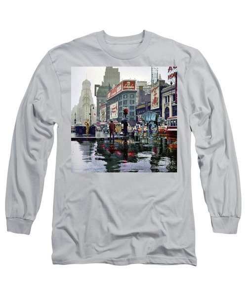 Times Square 1943 Reloaded Long Sleeve T-Shirt