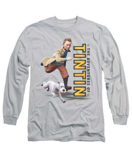Tintin - Come On Snowy Long Sleeve T-Shirt
