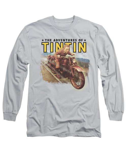 Tintin - Open Road Long Sleeve T-Shirt