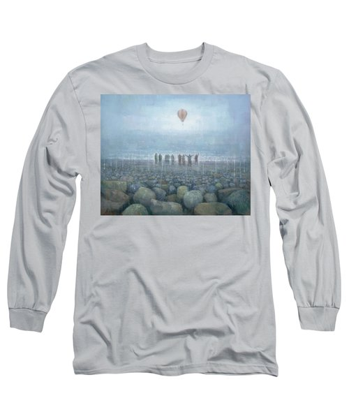 To The Mountains Of The Moon Long Sleeve T-Shirt by Steve Mitchell