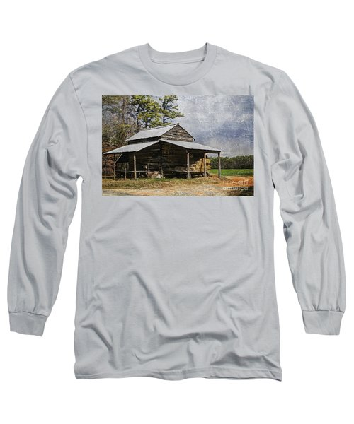 Tobacco Barn In North Carolina Long Sleeve T-Shirt