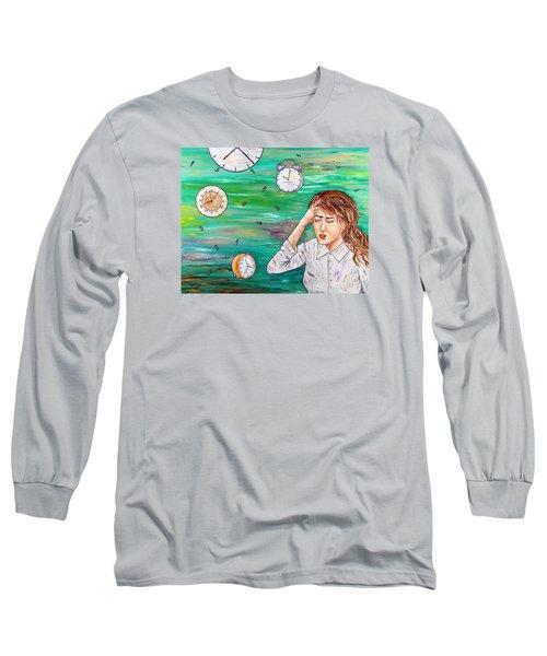 Today's Woman Long Sleeve T-Shirt by Loredana Messina