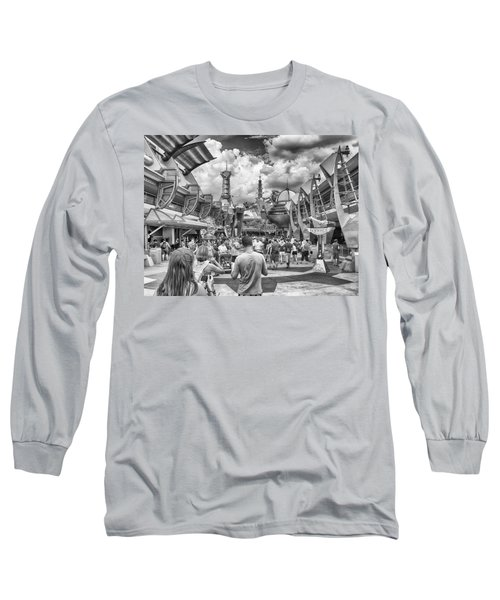 Long Sleeve T-Shirt featuring the photograph Tomorrowland by Howard Salmon