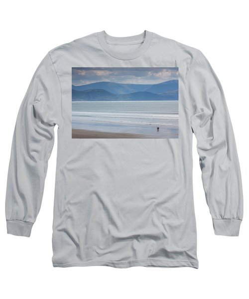 Tourists On The Beach, Inch Strand Long Sleeve T-Shirt
