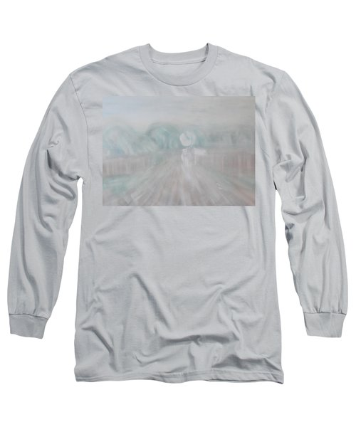 Towards The New Year Long Sleeve T-Shirt by Min Zou