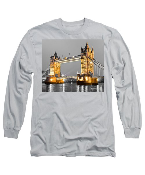 Tower Bridge - London - Uk Long Sleeve T-Shirt