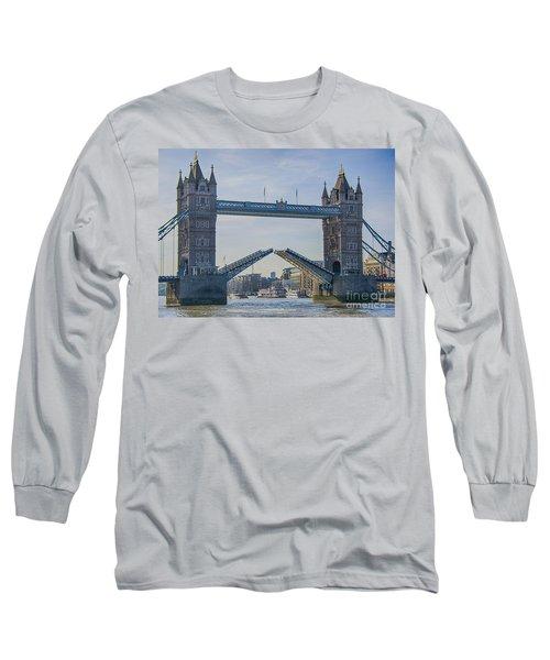 Tower Bridge Opened Long Sleeve T-Shirt