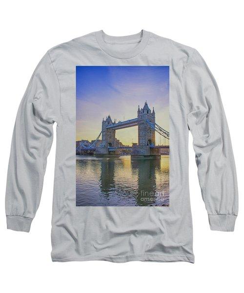 Tower Bridge Sunrise Long Sleeve T-Shirt