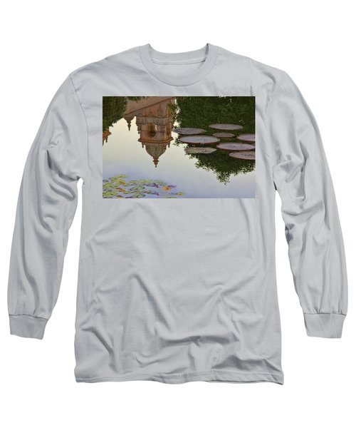 Long Sleeve T-Shirt featuring the photograph Tower In Lotus Position by Gary Holmes