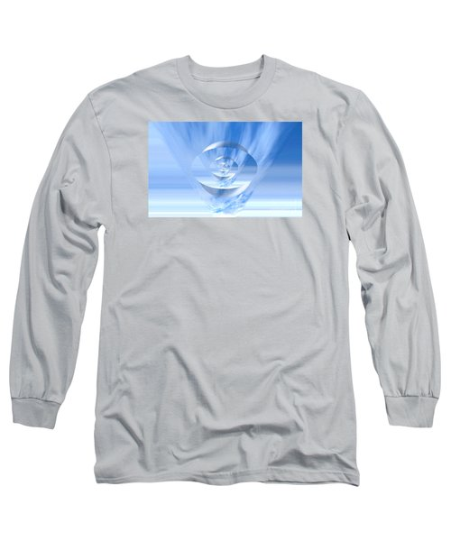 Transparency. Unique Art Collection Long Sleeve T-Shirt by Oksana Semenchenko