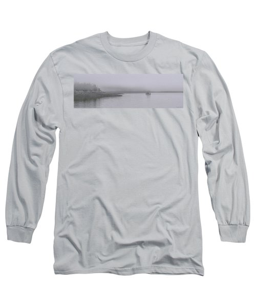 Trawler In Fog Long Sleeve T-Shirt