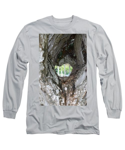 Long Sleeve T-Shirt featuring the photograph Tree View by Rafael Salazar