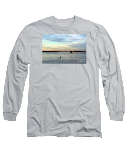 Tug Boat Long Sleeve T-Shirt by David Jackson