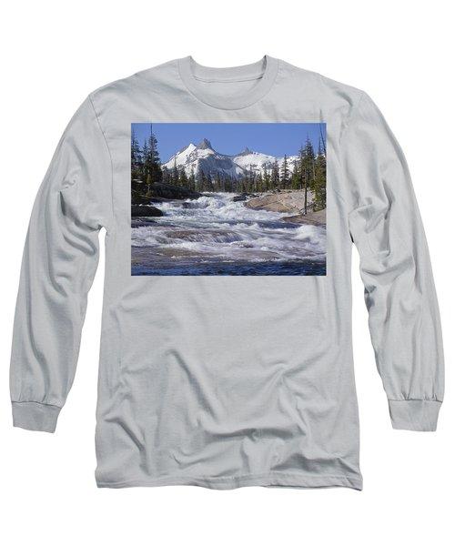 6m6539-tuolumne River  Long Sleeve T-Shirt