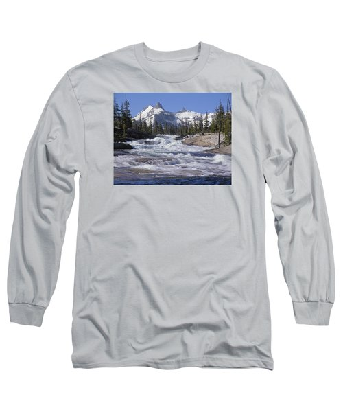 6m6539-tuolumne River  Long Sleeve T-Shirt
