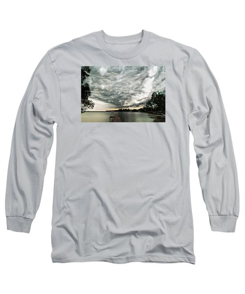 Turbulent Airflow Long Sleeve T-Shirt