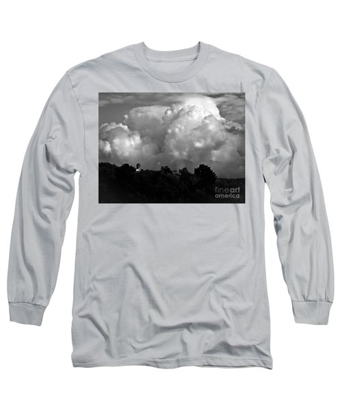 Tuscan Storm Rising From The Valley Long Sleeve T-Shirt