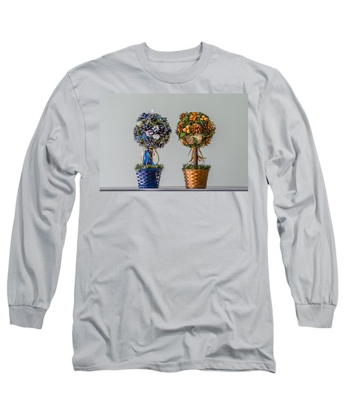 Twin Trees Long Sleeve T-Shirt