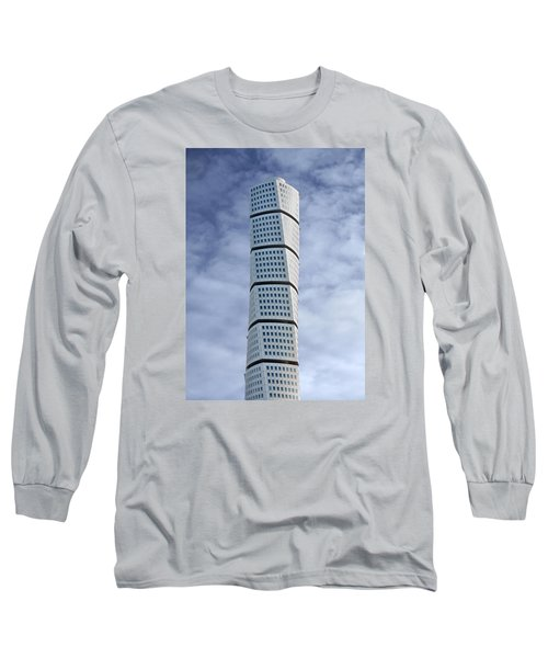 Twisted Architecture Long Sleeve T-Shirt