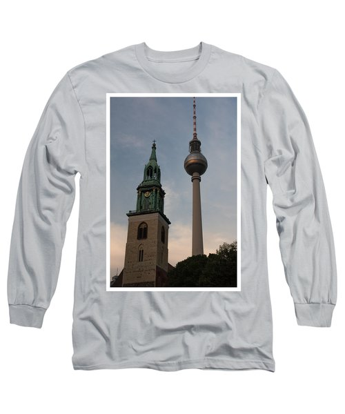 Two Towers In Berlin Long Sleeve T-Shirt
