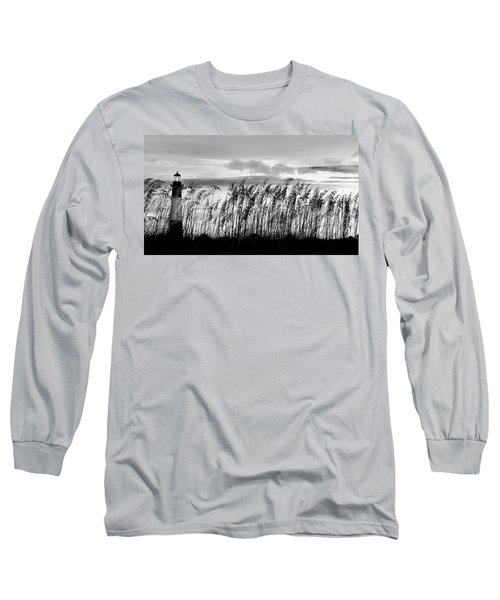 Tybee Lighthouse One Long Sleeve T-Shirt by Steve Archbold