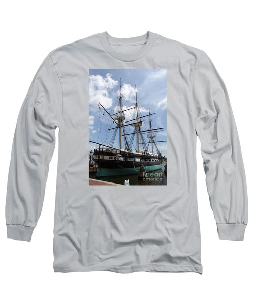 U S S  Constellation Long Sleeve T-Shirt by Christiane Schulze Art And Photography
