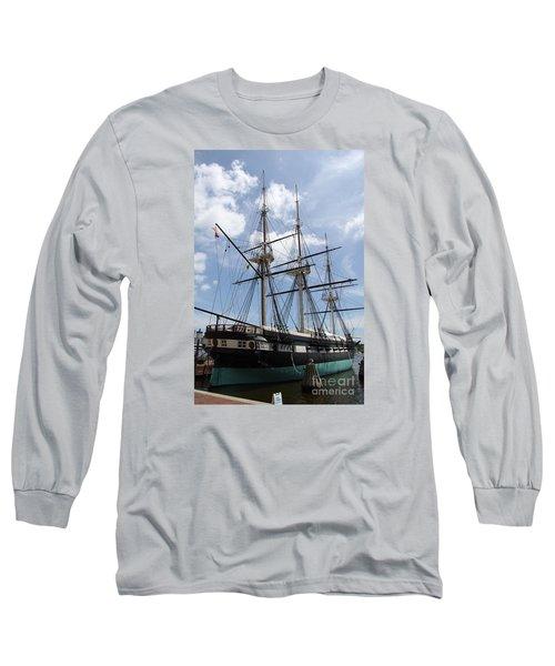 U S S  Constellation Long Sleeve T-Shirt