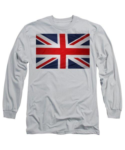 Uk Flag Long Sleeve T-Shirt