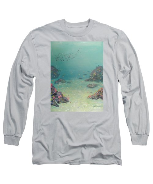 Under The Sea Long Sleeve T-Shirt by Pamela  Meredith