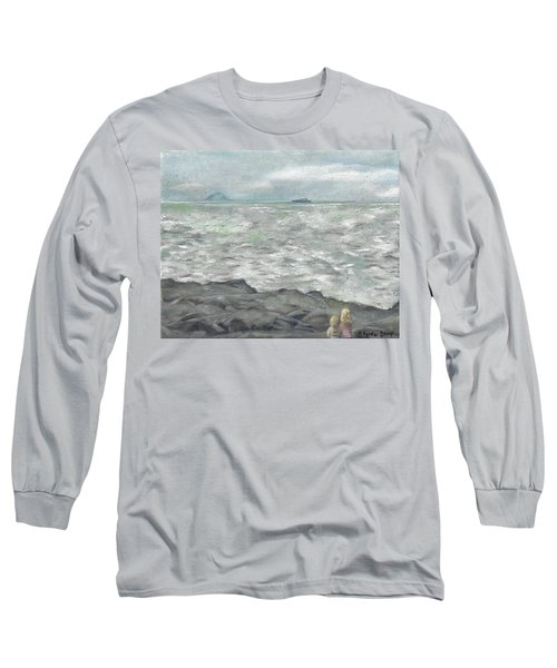 Untitled Seascape Long Sleeve T-Shirt