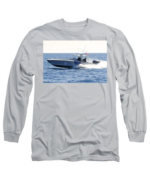 Us Customs At Work Long Sleeve T-Shirt by Shoal Hollingsworth