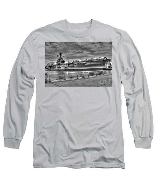 Uss Intrepid Long Sleeve T-Shirt by Anthony Sacco