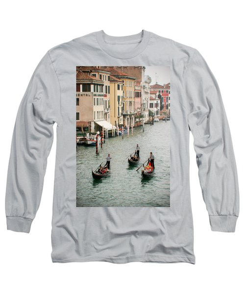 Long Sleeve T-Shirt featuring the photograph Venice by Silvia Bruno