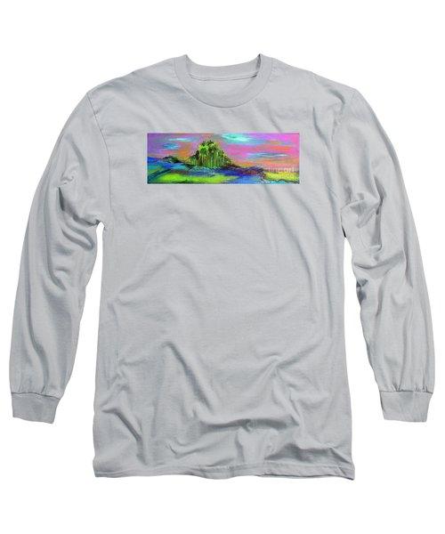 Verdant Tuft Long Sleeve T-Shirt by Elizabeth Fontaine-Barr
