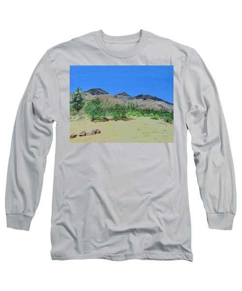 View From Sharon's House - Mojave Long Sleeve T-Shirt