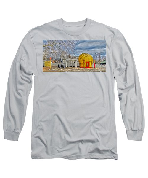 Days Of Yesterday Gas Station Long Sleeve T-Shirt
