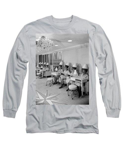 Vintage Hair Salon 2 Long Sleeve T-Shirt