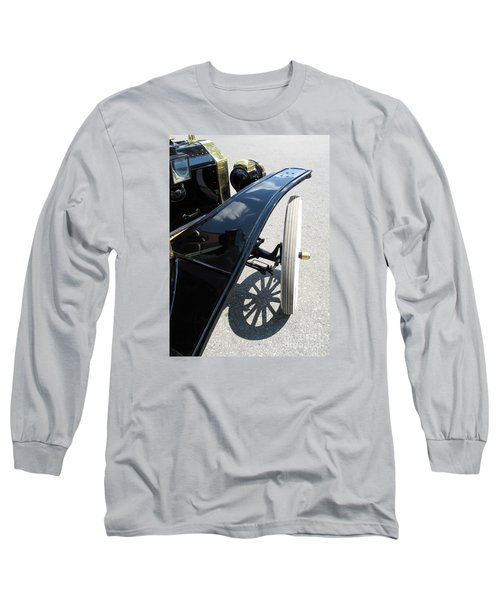Vintage Model T Long Sleeve T-Shirt by Ann Horn