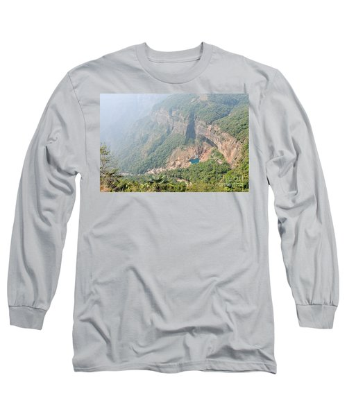 Waiting For The Monsoons Long Sleeve T-Shirt by Fotosas Photography