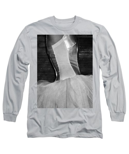 Waiting Her Turn Bw Long Sleeve T-Shirt