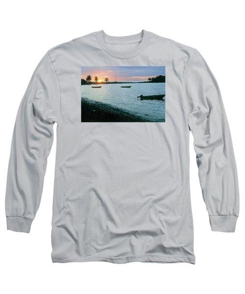 Waitukubuli Sunset Long Sleeve T-Shirt
