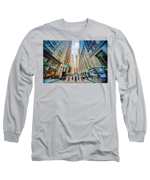Wall Street Long Sleeve T-Shirt