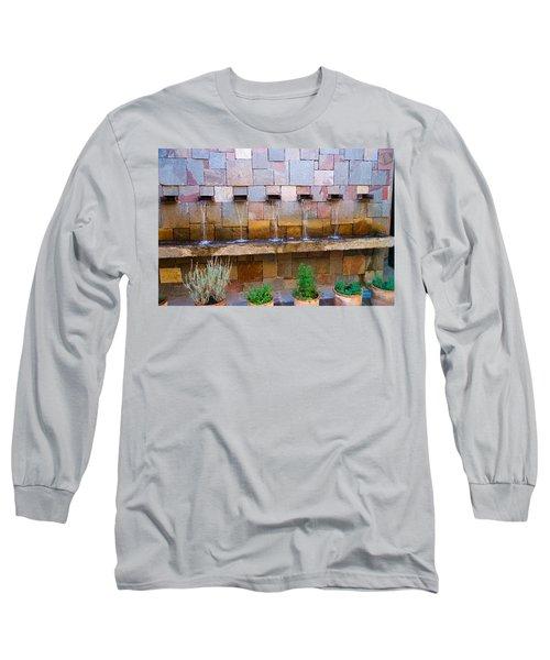 Water Art Long Sleeve T-Shirt