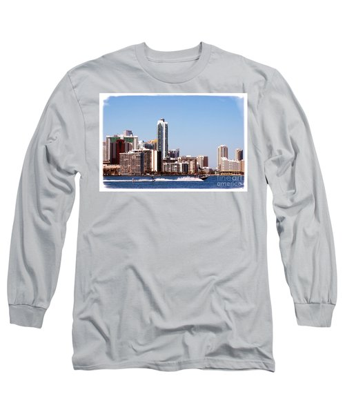 Long Sleeve T-Shirt featuring the photograph Water Skiing by Carsten Reisinger